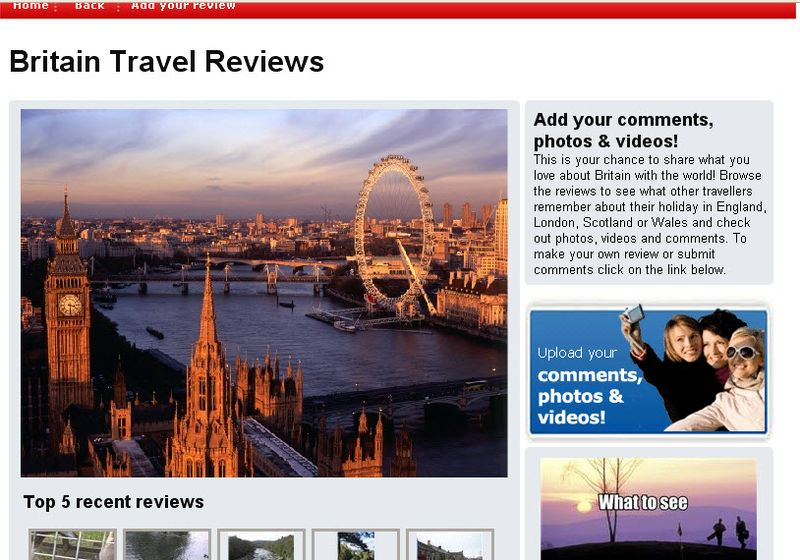 Britain travel review